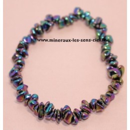 Bracelet Baroque Hématite Rainbow