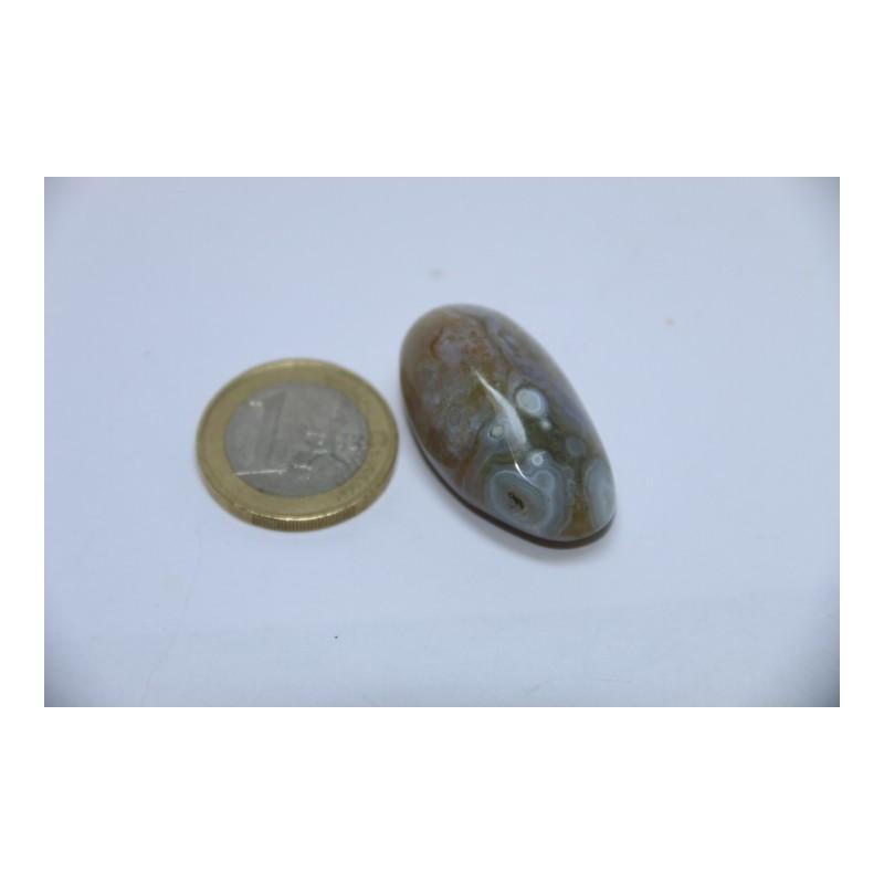 Jaspe Orbiculaire pierre roulée