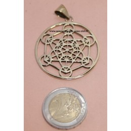 Pendentif Bronze Doré Archange Métatron