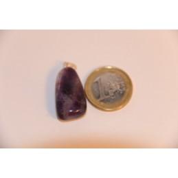 pendentif Fluorine pierre roulée