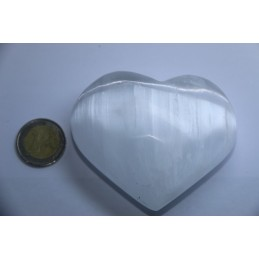 Coeur en selenite