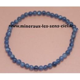 Bracelet Boules 4mm Dysthène Cyanite