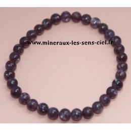 Bracelet Boules 6mm Lepidolite