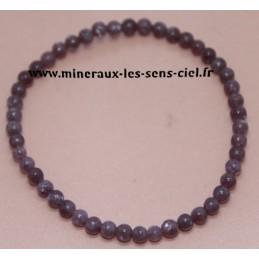 Bracelet Boules 4mm Lépidolite