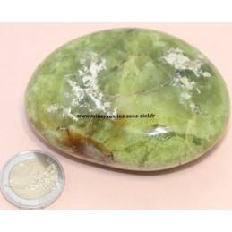 Opale vert galet pierre roulée 186g