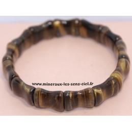 Bracelet Bambou Oeil de Tigre