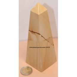 obélisque en pierre paesine 440gr