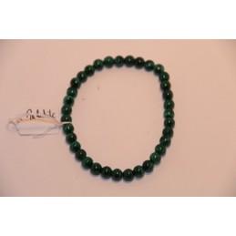 Bracelet Boules 6mm Malachite