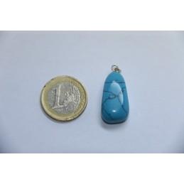 Pendentif Turquoise pierre roulée