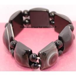 Bracelet en Agate Oeil...
