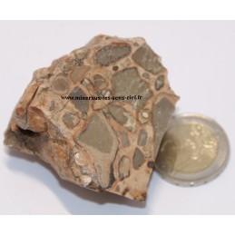 Jaspe Leopardite pierre brute du Pérou