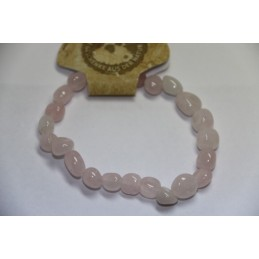 Bracelets Nuggets Quartz Rose