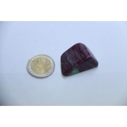 Rubis Zoïsite pierre roulée