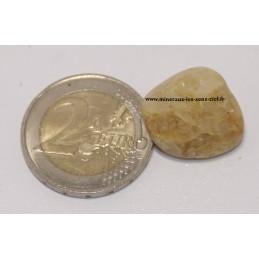 Héliodore ou Béryl doré pierre roulée