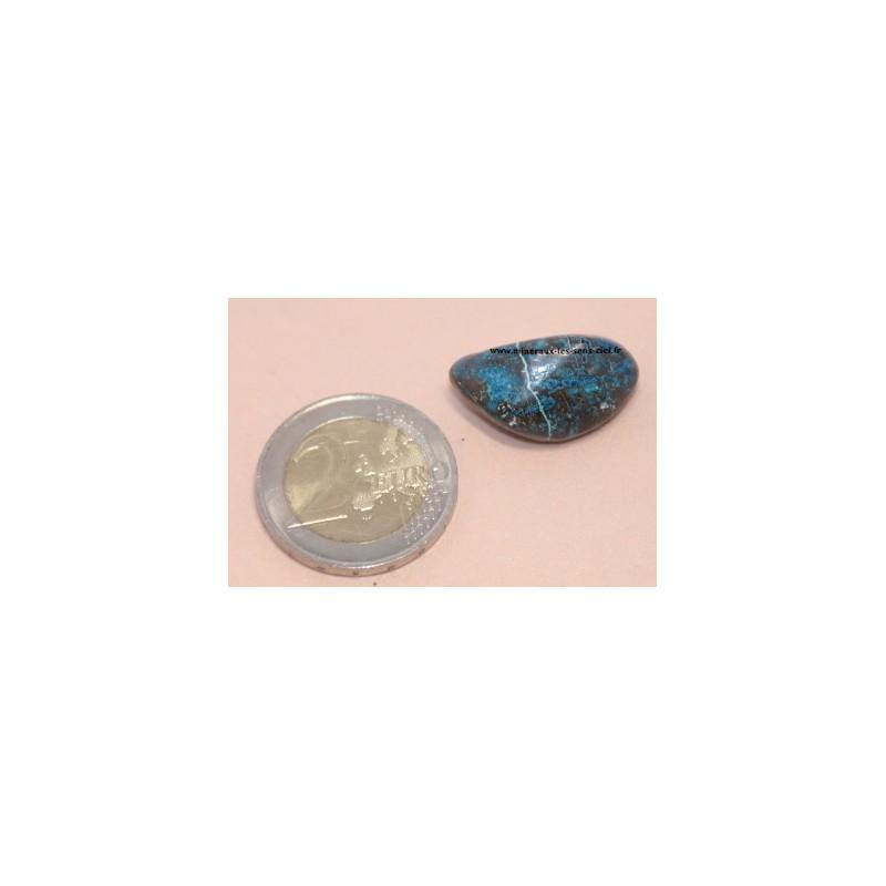 Shattuckite pierre roulée