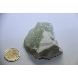 Jade Vert pierre brute