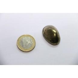 Chalcopyrite pierre roulée