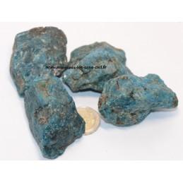 Apatite Bleue pierre brute, belle qualité
