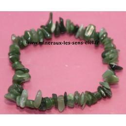 Bracelet Baroque pierre de Jade Néphrite