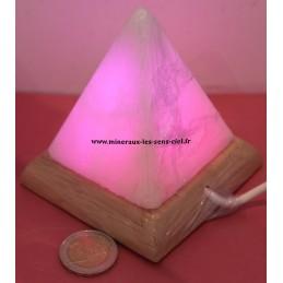 Pyramide Lampe de sel de l'himalaya