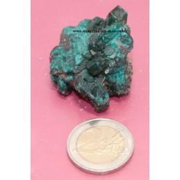 Dioptase pierre brute du Congo 40grs