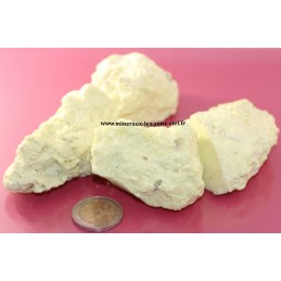 Soufre pierre brute d'indonésie