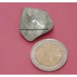 Saussurite pierre roulée