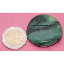 Superbe galet pierres roulées en quartz prase d'Afrique du Sud de bonne qualitée.