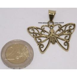 Pendentif Papillon en Bronze