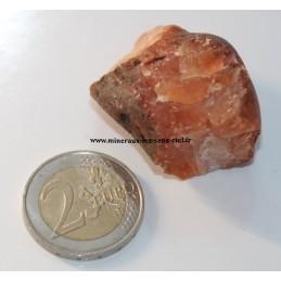 Cornaline pierre brute d'Inde