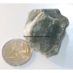 Agate Mousse pierre brute