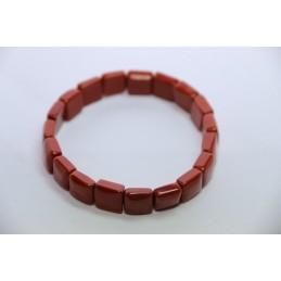 Bracelet Square Jaspe Rouge