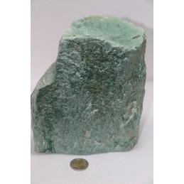 Bloc de Fuchsite brut 3,2kg
