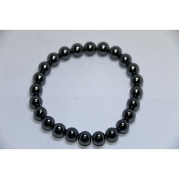 Bracelet Boules 8mm Hématite