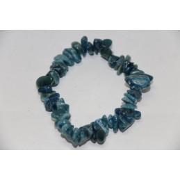 Bracelet Baroque Apatite poli