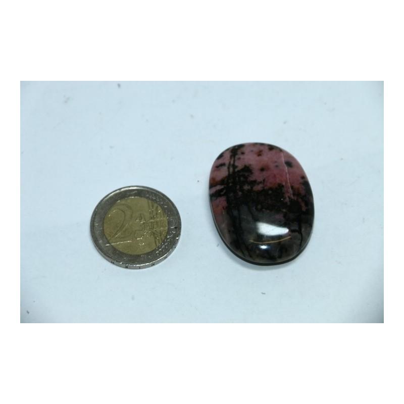 Rhodonite galet pierre roulée