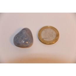 Quartz Lazuli pierre roulée