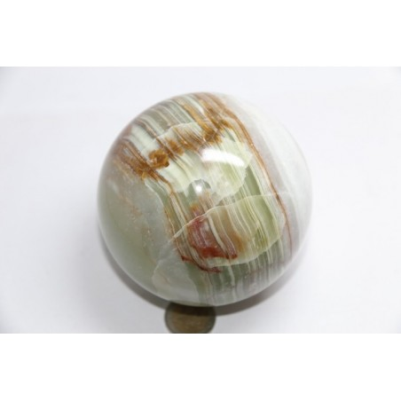 Sphère en Onyx Marbre diamètre 90/100mm