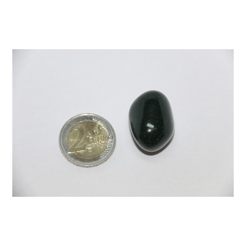 Jaspe Vert pierre roulée