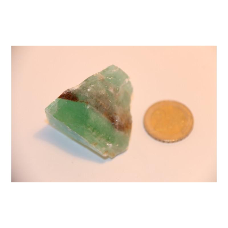 Calcite verte pierre brute