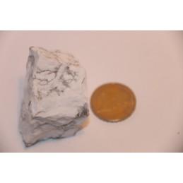 Howlite blanche pierre brute