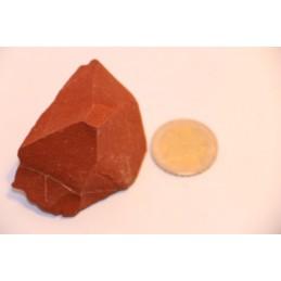 Jaspe rouge pierre brute
