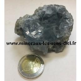 Celestite pierre brute 170gr
