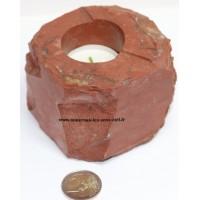 Bougeoirs en divers pierres minéraux