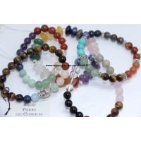 Pierres chakras en pierres minéraux - pierres roulées - bijoux - décorations