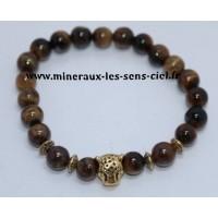 Bracelets Boules tout diamètre et choix de pierres minéraux